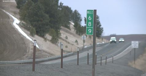 Mile marker 69 signs keep getting stolen in Washington. Now there's 68.9 instead   This is why we can't have nice things. 🤦  https://on.wcnc.com/2RnWDX5