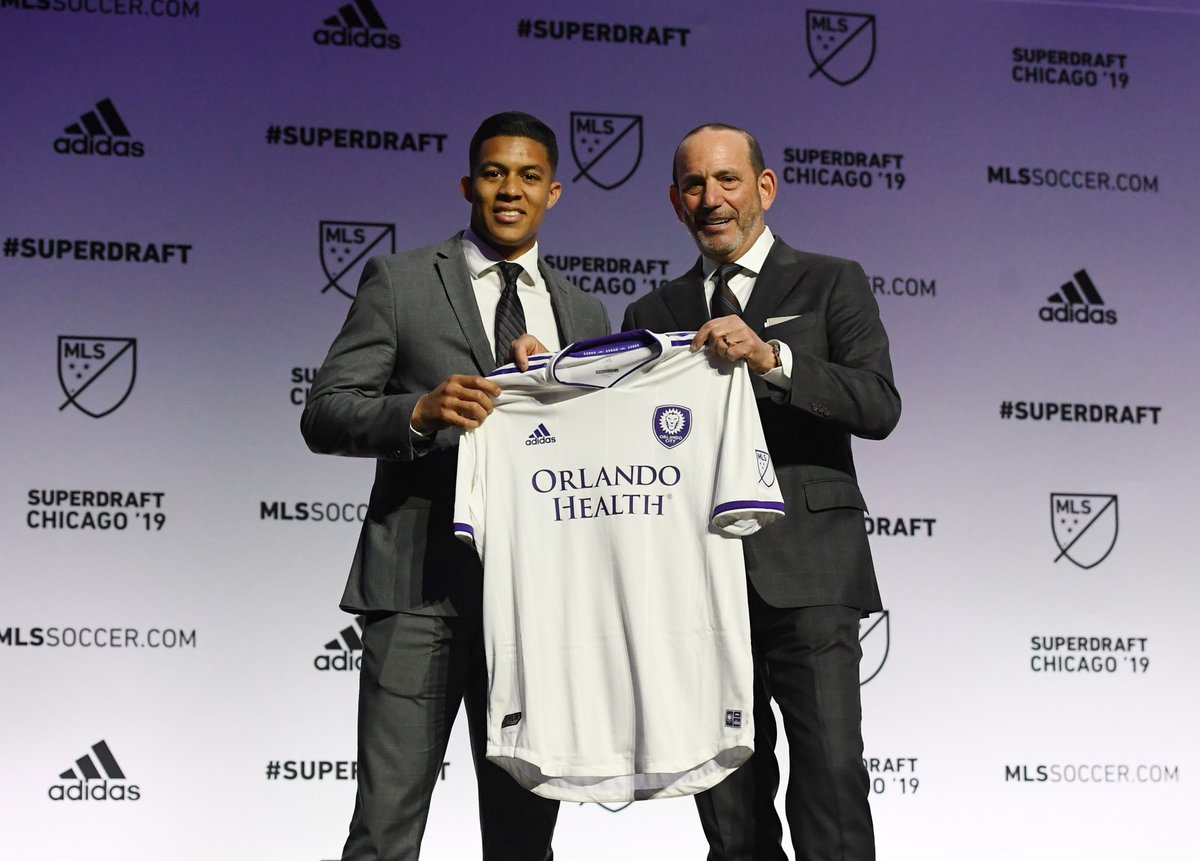 From watching in the stands to becoming City's 2019 first round #SuperDraft pick. #FaceOfCity<br>http://pic.twitter.com/UBPUgMBUm9