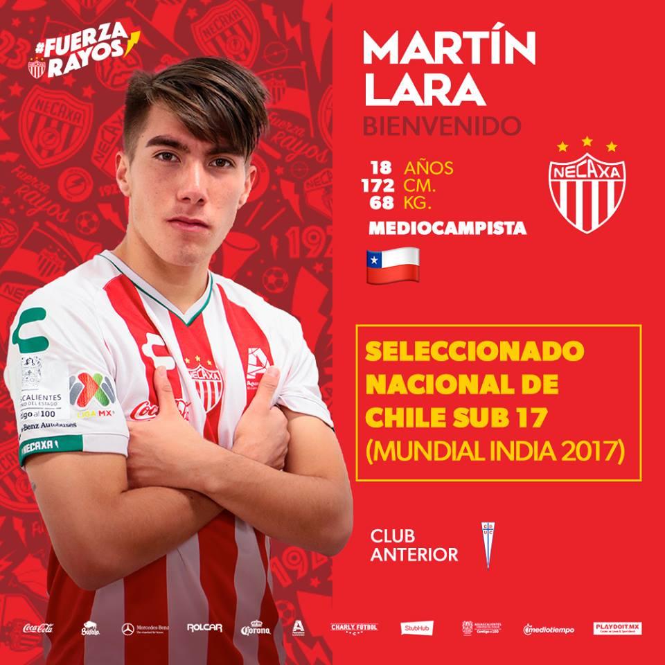 Fútbol Mexicano's photo on Martín Lara