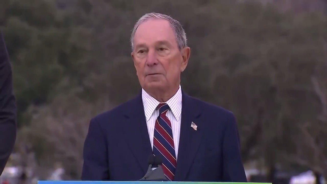 Michael Bloomberg: 'All we hear from the President is a lot of fear mongering and lies.' https://t.co/6cVPk6oV4p https://t.co/rM60vFpNDP
