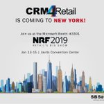 Image for the Tweet beginning: Heated to #NRF2019 in January?