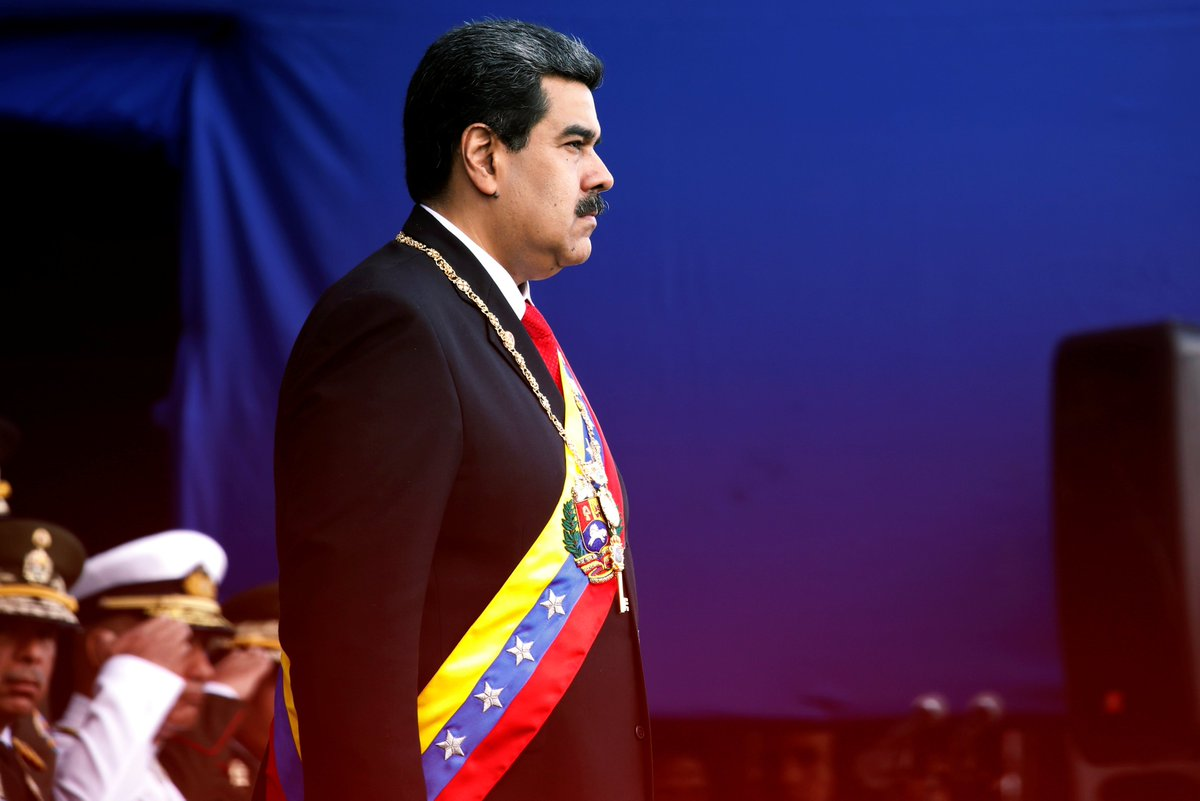 teleSUR TV's photo on Presidente de Venezuela