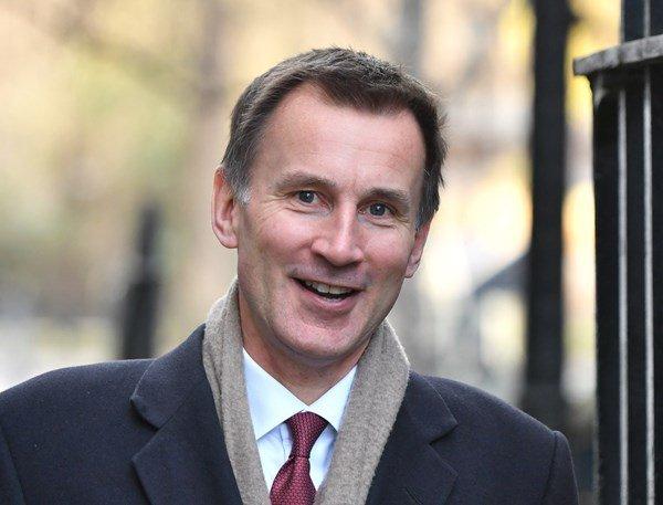 London Glossy's photo on Foreign Secretary Jeremy Hunt