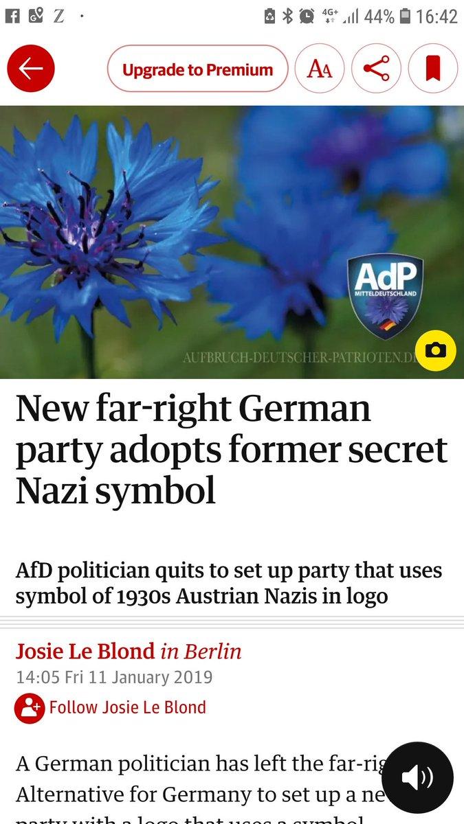 RT @l_emcken: Der Guardian macht vor wie man über den rechtsextremen Schmutz schreibt. #Poggenburg #AdP https://t.co/57PjMMZBAU
