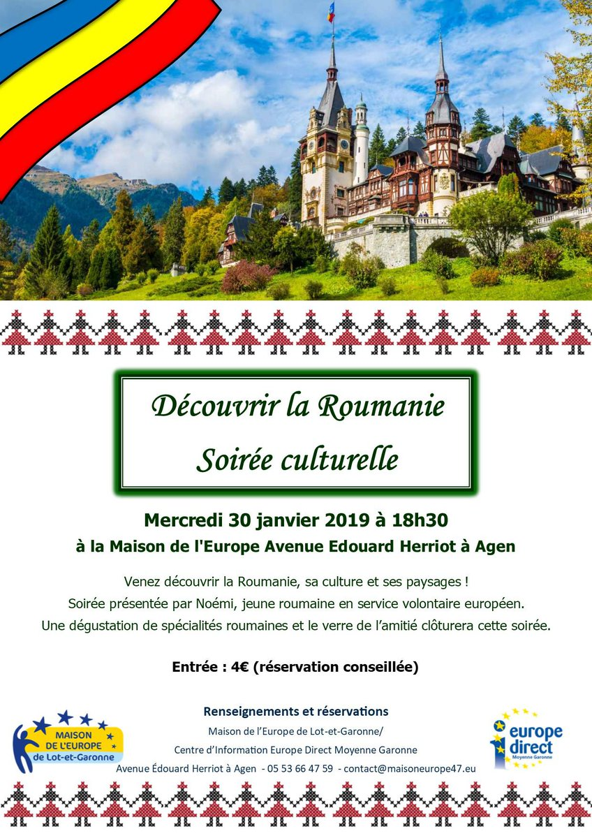 Maison de l'Europe47's photo on Roumanie