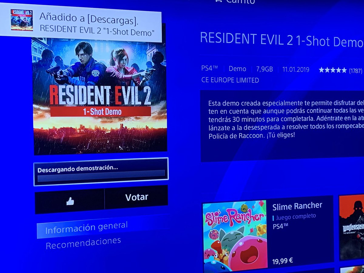 Lord cacahuete's photo on #ResidentEvil2Demo