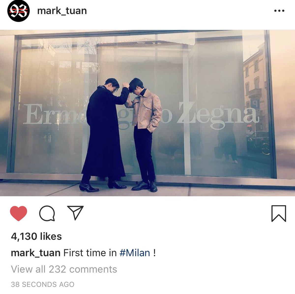 yes, daddy✨'s photo on #MarkBam