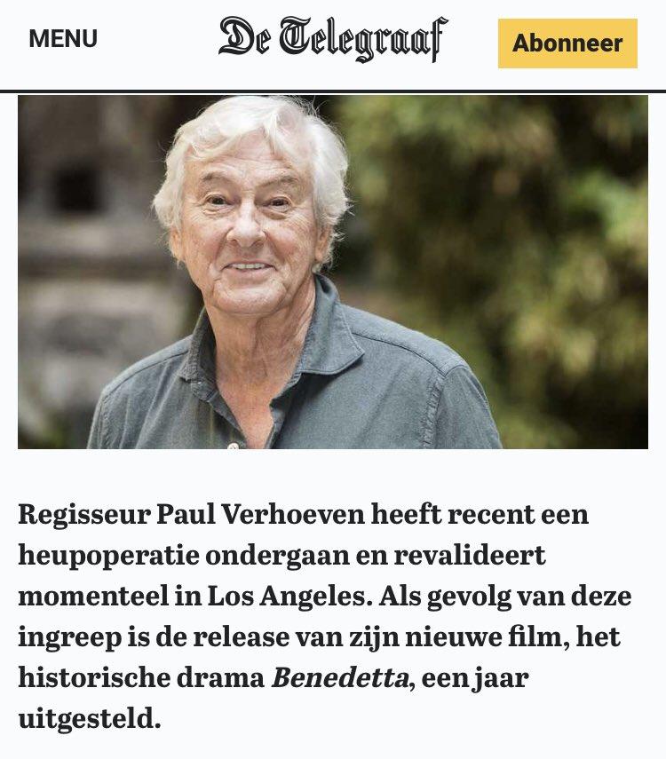 Hang Lu's photo on Paul Verhoeven
