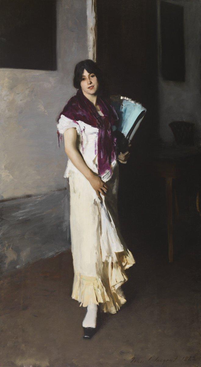 Happy Birthday John Singer Sargent! Born on this day in 1856.   John Singer Sargent (American, b.1856, d.1925), painter,