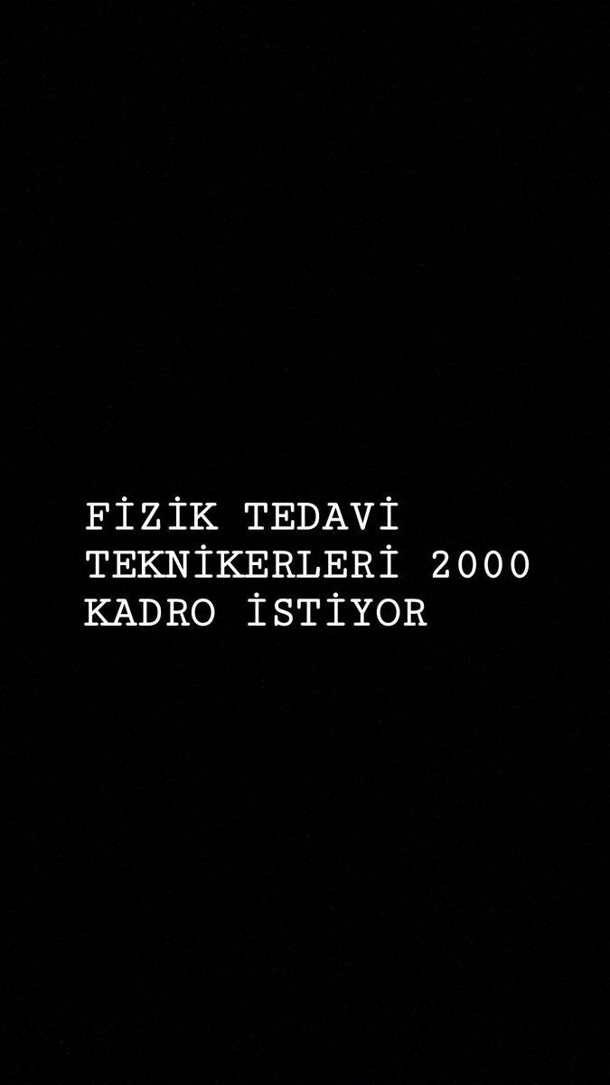 RT @fttatamabeklyor: #şimdifizyoterapistvakti https://t.co/f5N3TSlJOZ