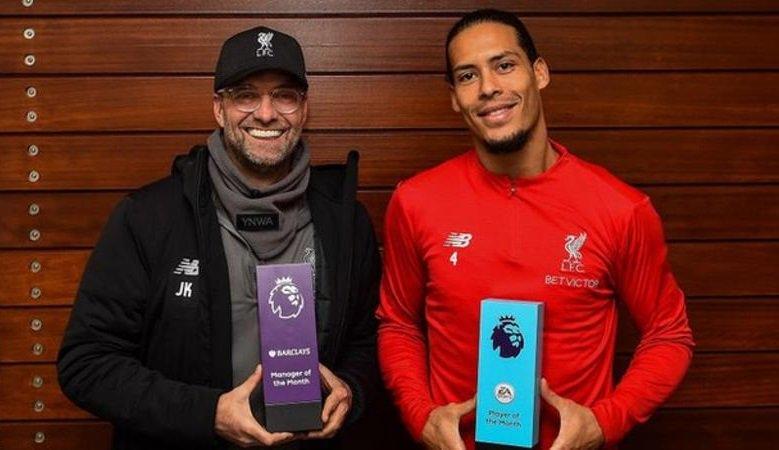 BBC Sport's photo on Van Dijk