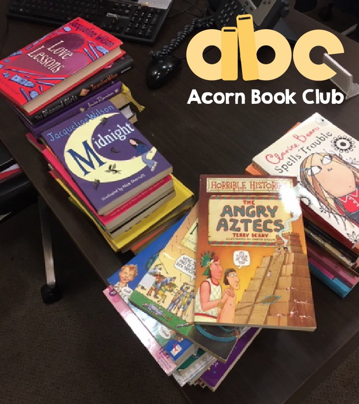 Thank you so much for the latest book donation, please keep them coming! Together we can help children develop a life-long love of reading. Find your nearest book drop at:  http://www. acornbookclub.co.uk  &nbsp;    #NutsAboutReading #Friyay  <br>http://pic.twitter.com/ru6rZ1644T