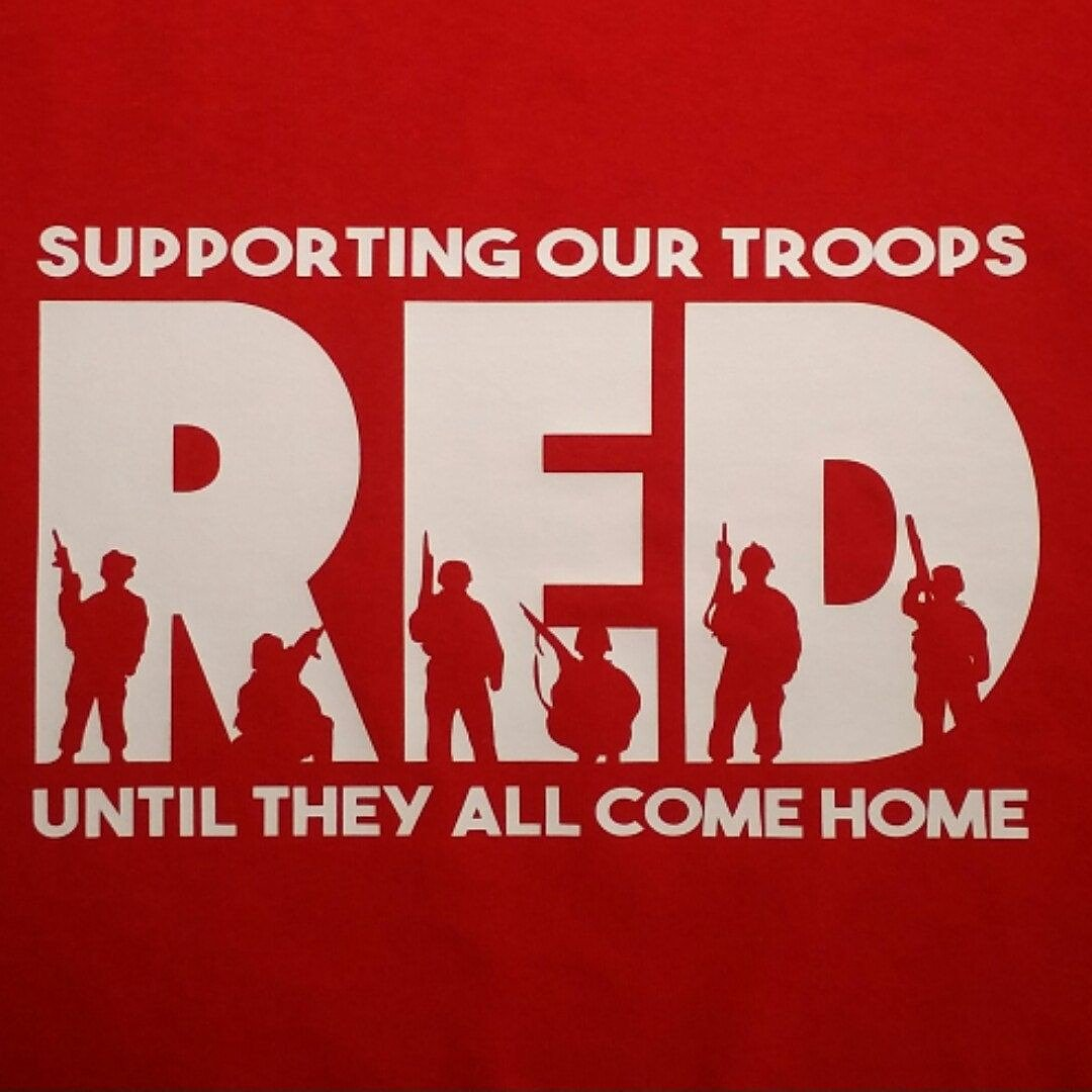 #redfriday never forget those who are fighting for your freedom  <br>http://pic.twitter.com/nZheZAeiu1