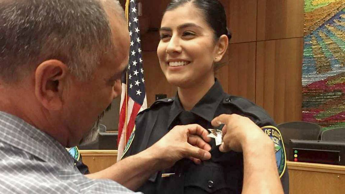 Natalie Corona was only 22 years old when she was murdered last night. It was her first month on the job as a police officer in California. RIP Natalie <br>http://pic.twitter.com/Dt6P65nN3Z