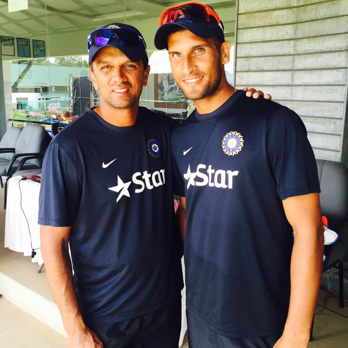 Wishing you a very happy birthday sir  Rahul Dravid the Great Wall of india