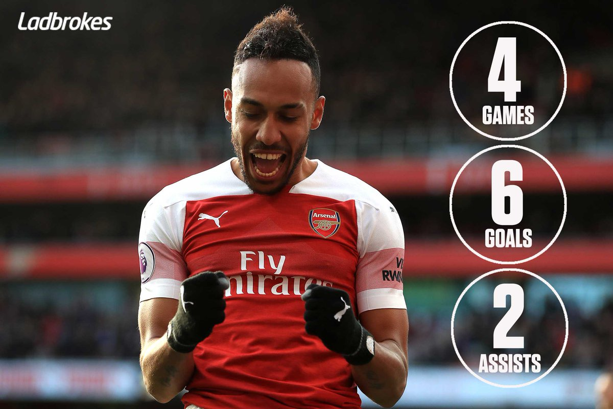Ladbrokes's photo on Aubameyang