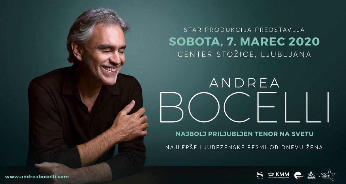 Andrea Bocelli's photo on andrea