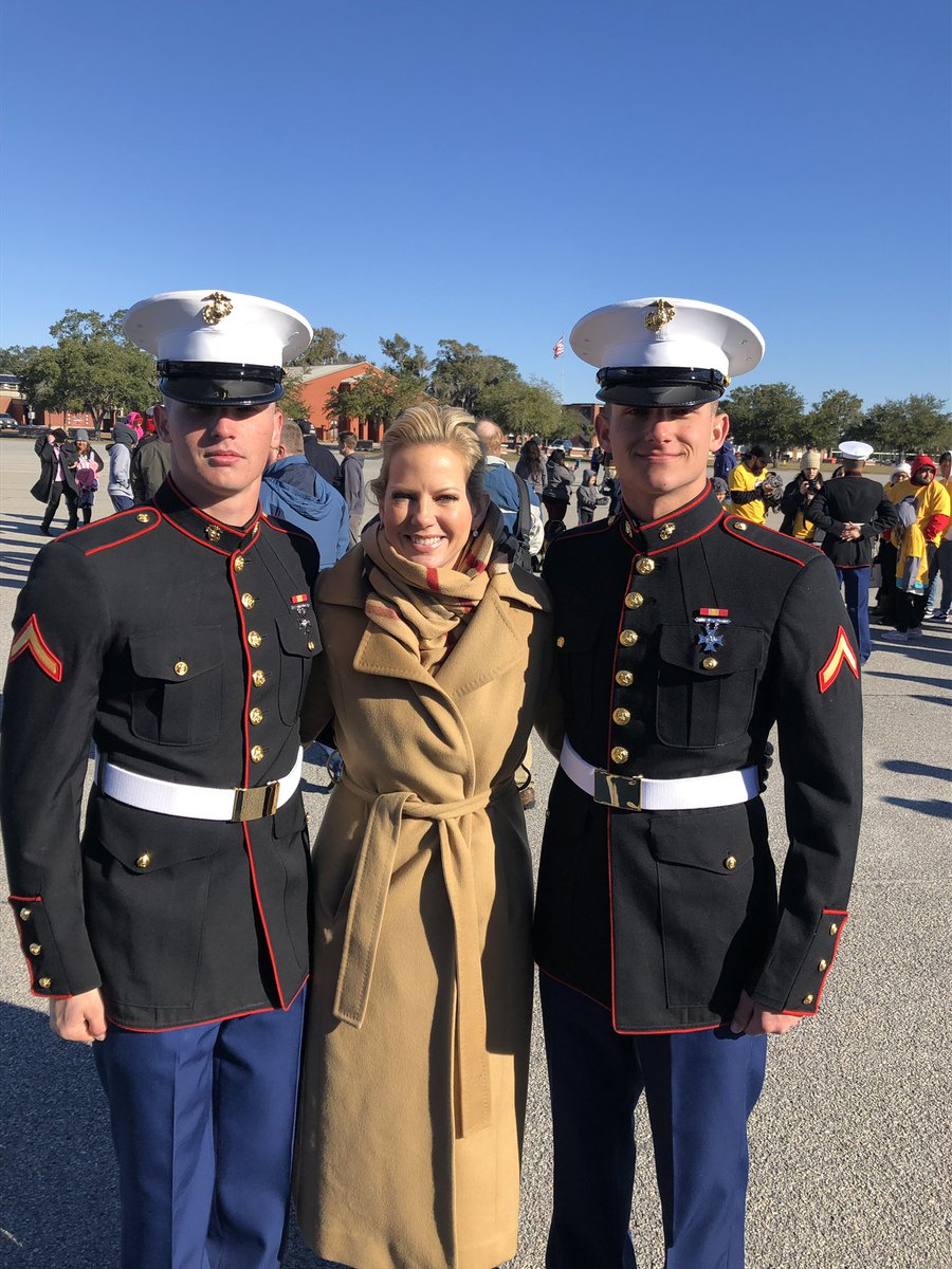 Could not possibly be more proud of these brand new #ParrisIsland grads!   They're officially #Marines now 🇺🇸💪🏼 @USMC