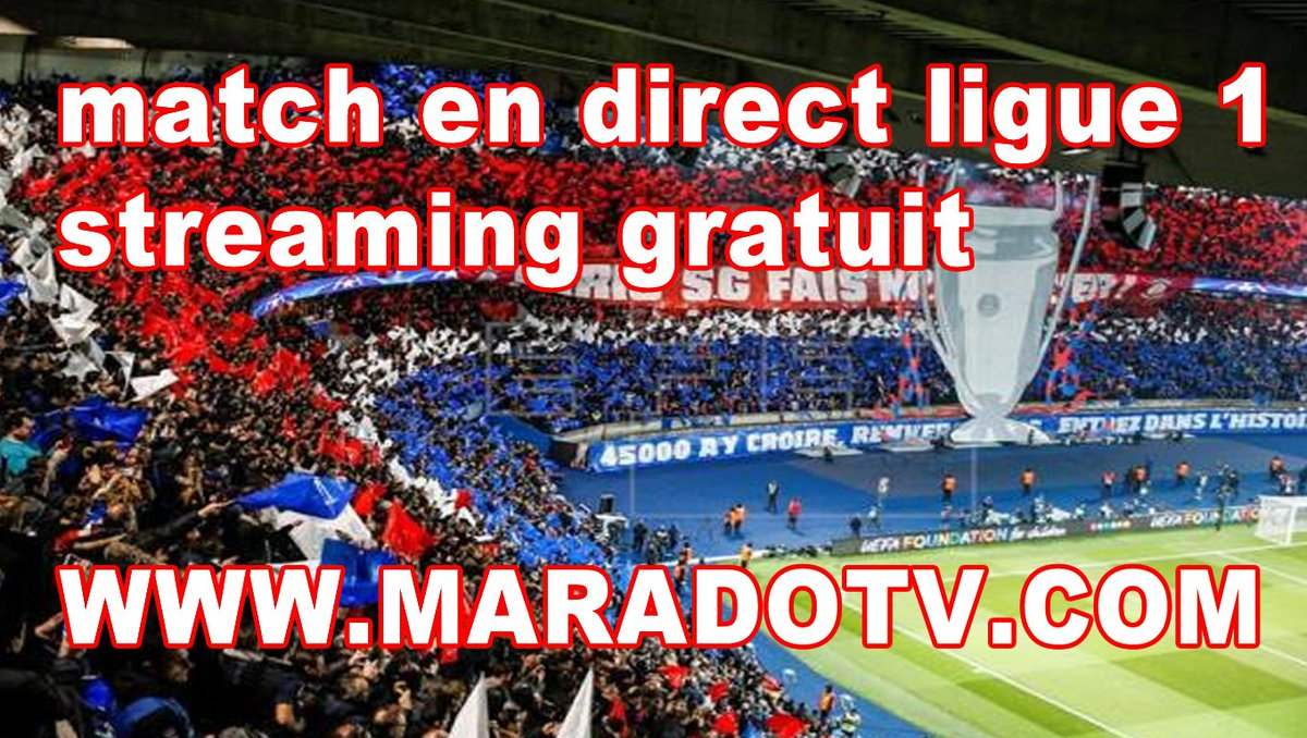 Resultado de imagen para ligue 1 en direct streaming gratuit maradotv