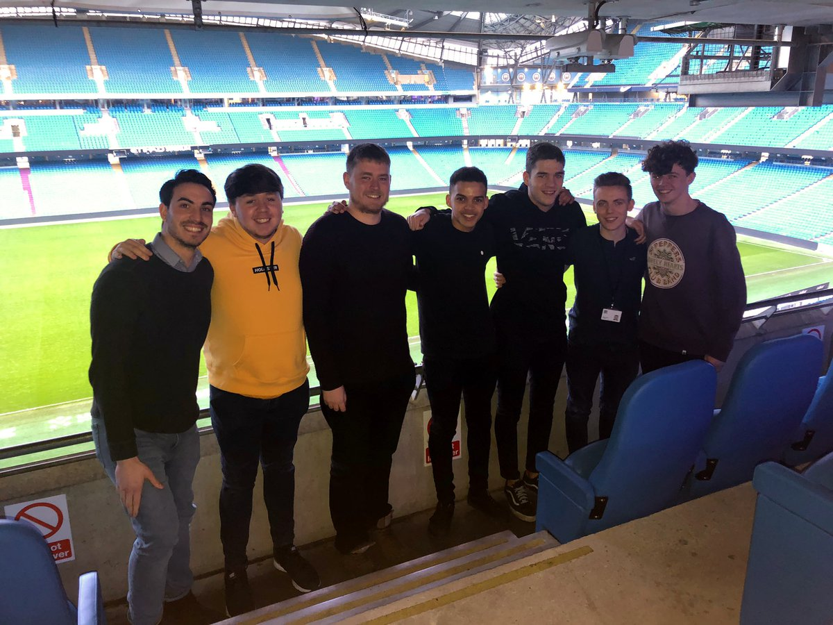 📚 It's been a fantastic afternoon inducting our new 2019 media placement group at the Etihad.  Keep your eyes peeled on our social media channels to see what they are getting up to!