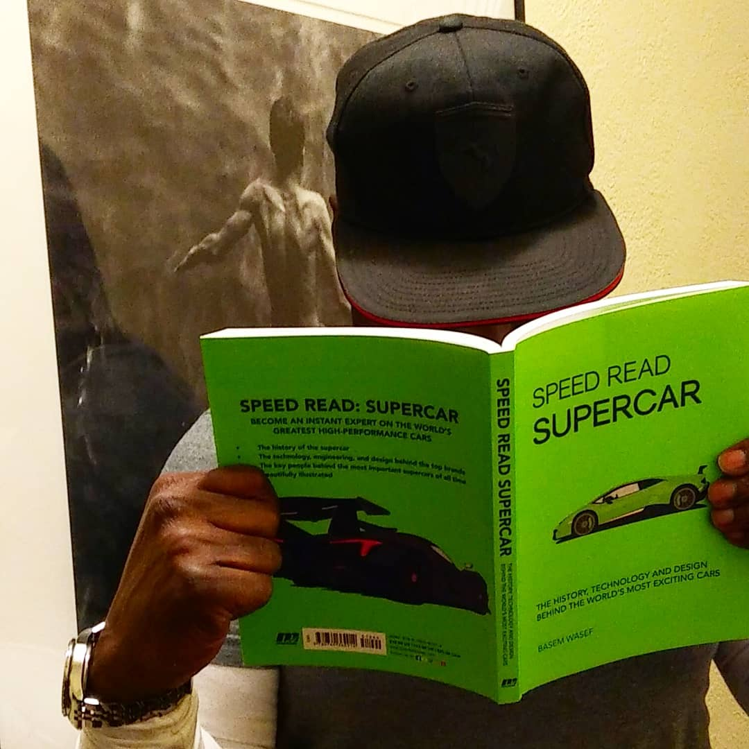 """When a friend writes a book about """"Supercars"""" your vacation reading choice search is now over... #speedreadsupercar #vacationmusthave #vacationready✈️ #beachreading #vacationready😎 #styletravel #StyleAutos #Supercars http://unnamedproject.com/autos/supercar/ @BasemWasef @amazonbooks"""