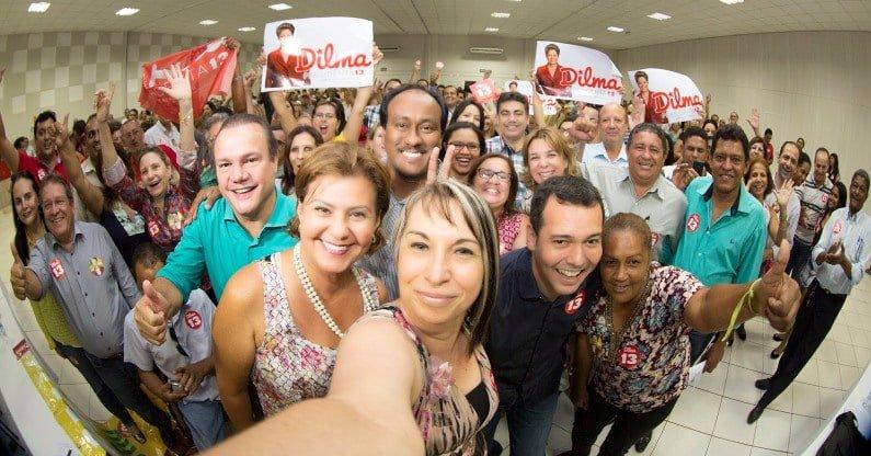 Carla Zambelli's photo on Petrobras