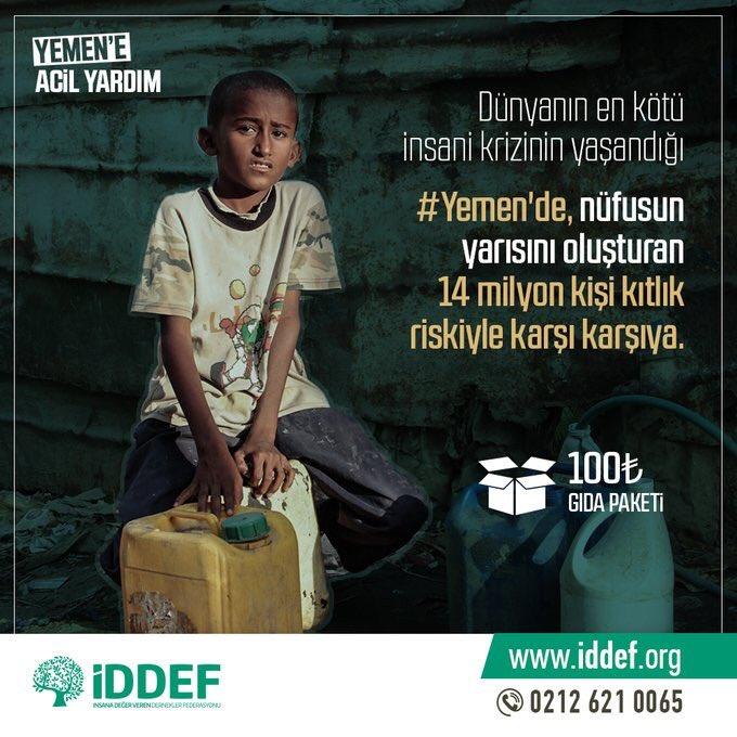 İDDEF's photo on #YemeneSesVer
