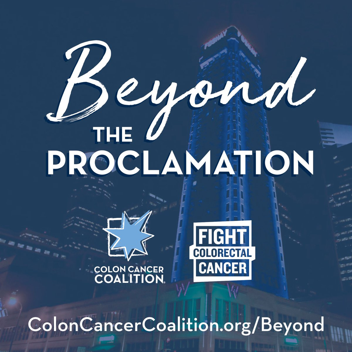 Colon Cancer Coalition On Twitter We Re Working With Our Advocacy Partner Fightcrc To Go Beyond The Proclamation Many Advocates Get March Proclaimed As Colorectalcancer Awareness Month But What Can You Do Beyond