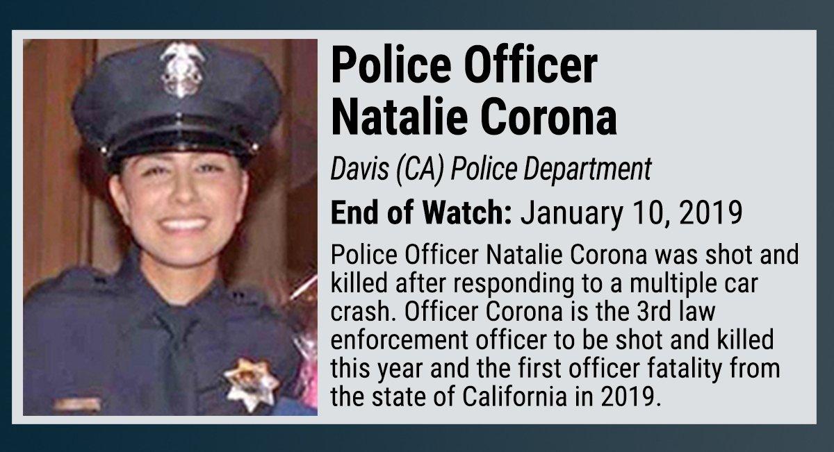 NLEOMF's photo on Officer Corona