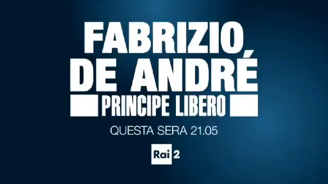 Rai2's photo on #FabrizioDeAndré