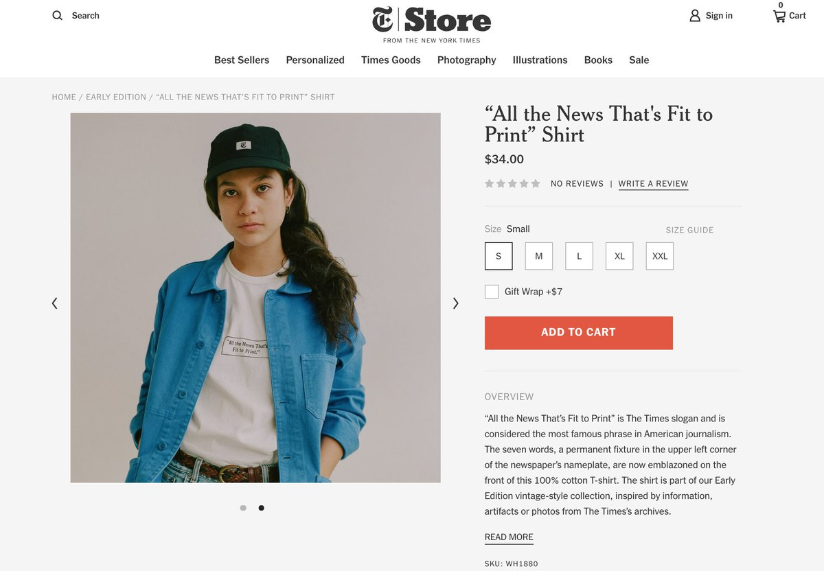 official nyt streetwear feels like a telling marker of where media brand  strategy is at in 2019 456a0a9fde90