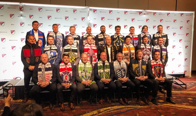 The coaches are set 📸 #SuperDraft @adidassoccer #cf97 Photo