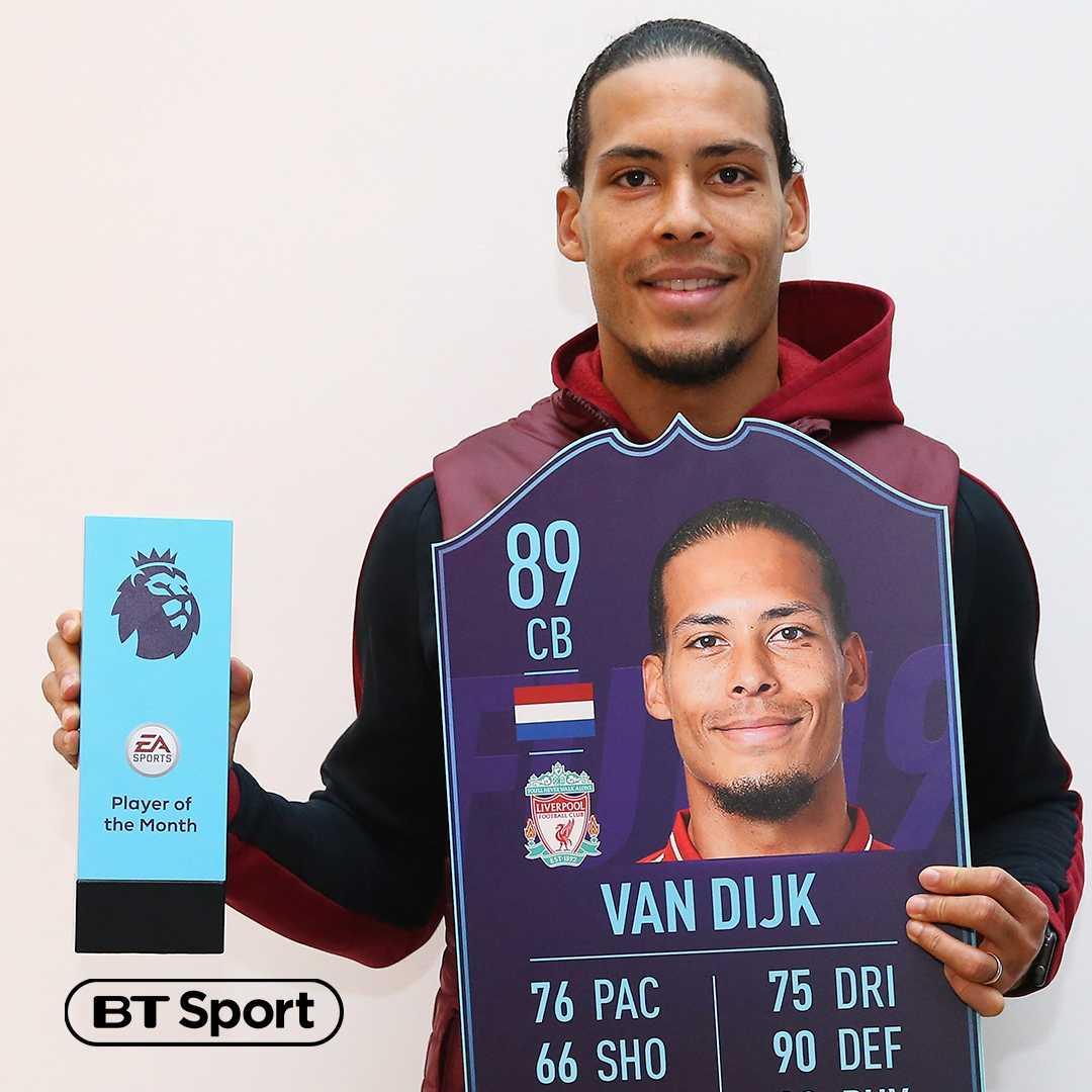 BT Sport Score's photo on Van Dijk