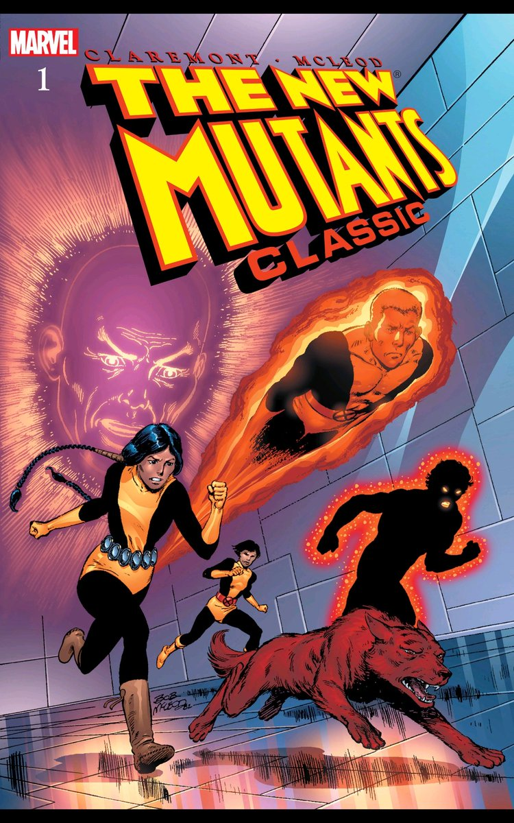 Just read the New Mutants Classics Vol. 1 and it reminded me of everything I loved and hated from Marvel in the 90s. #newmutants #marvel #nostalgia