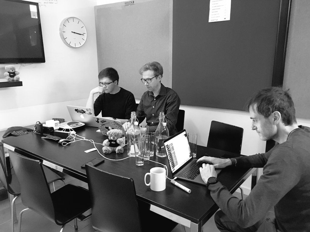 Busy coding day integrating  @iotatoken with @EVRYTHNG Thanks for your help @michelenati expect #iota support in @EVRYTHNG's blockchain integration hub to be released soon! #iot #blockchain #supplychain https://evrythng.com/platform/introducing-the-evrythng-blockchain-integration-hub/…