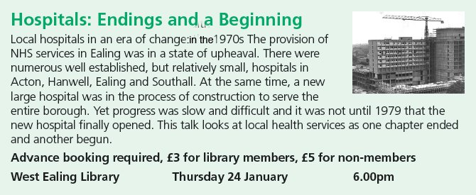 Ealing Libraries's photo on #hospital