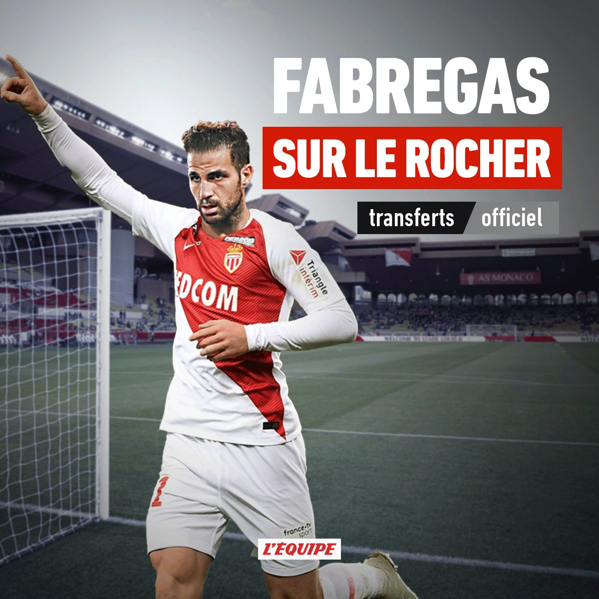 L'ÉQUIPE's photo on Annonce Fabregas