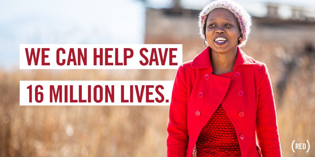 We have some big, exciting news to share — this year, we can help save 16 MILLION LIVES.