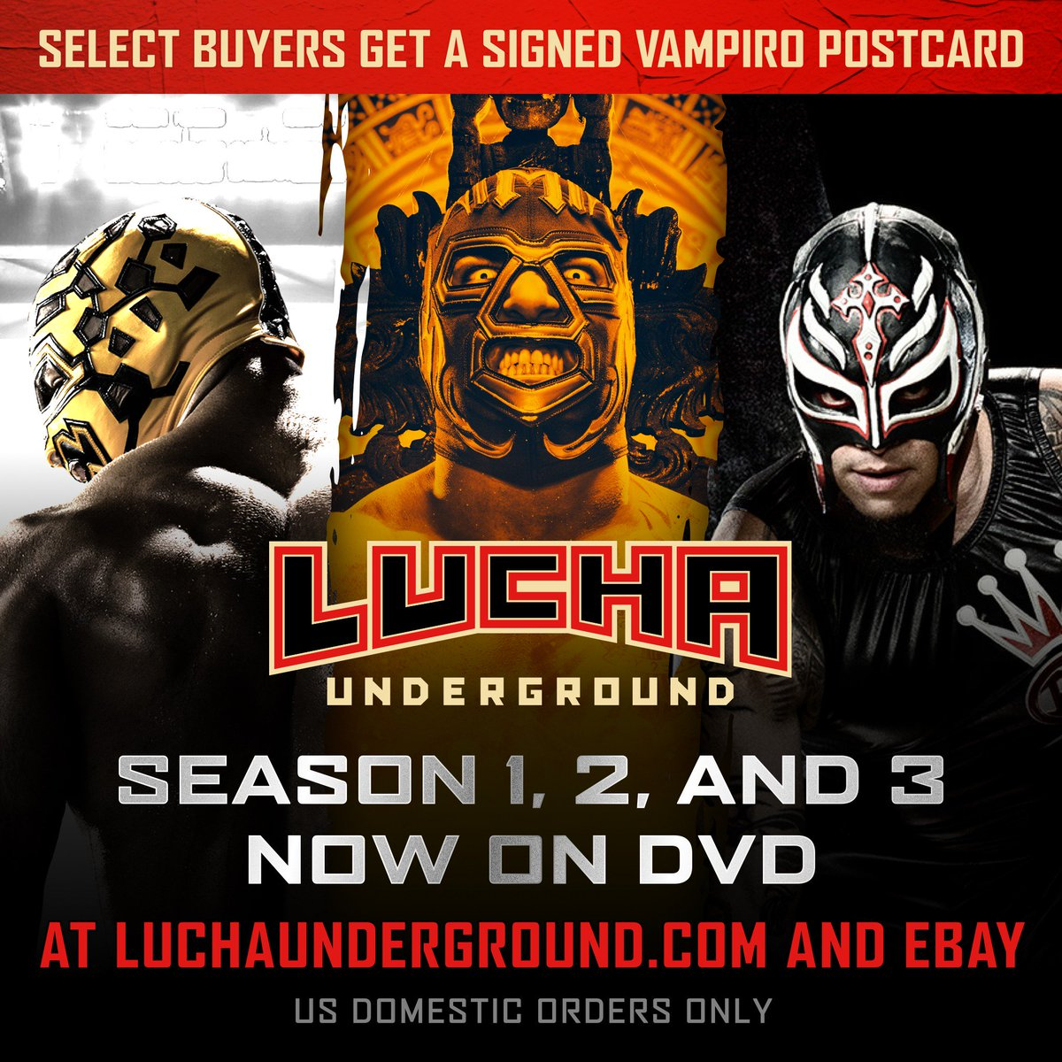 Lucha Underground Luchaelrey Twitter