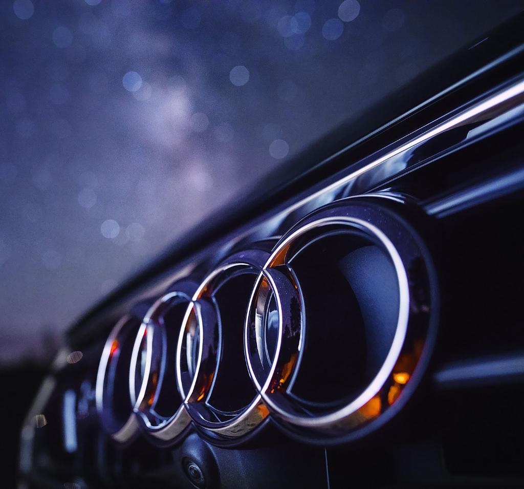 When all your stars align. #AudiA7