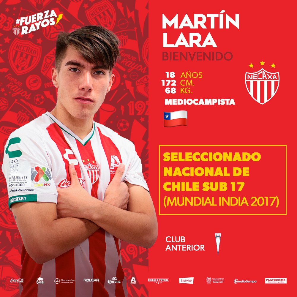 Club Necaxa ⚡'s photo on Martín Lara