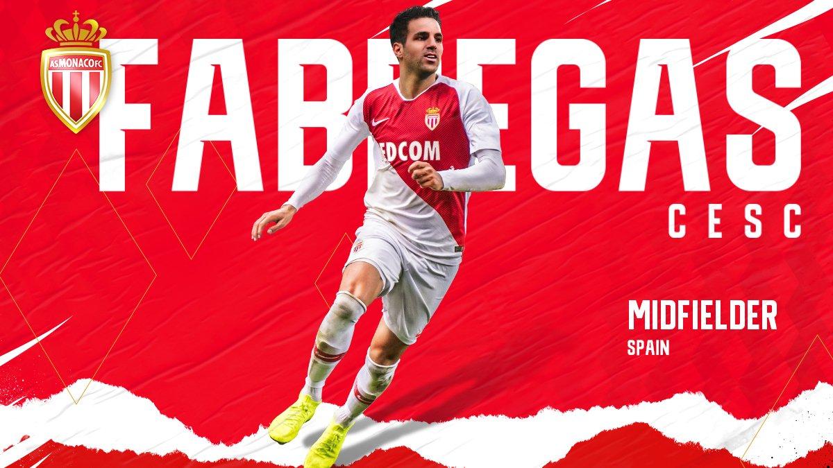 AS Monaco EN's photo on Cesc Fabregas