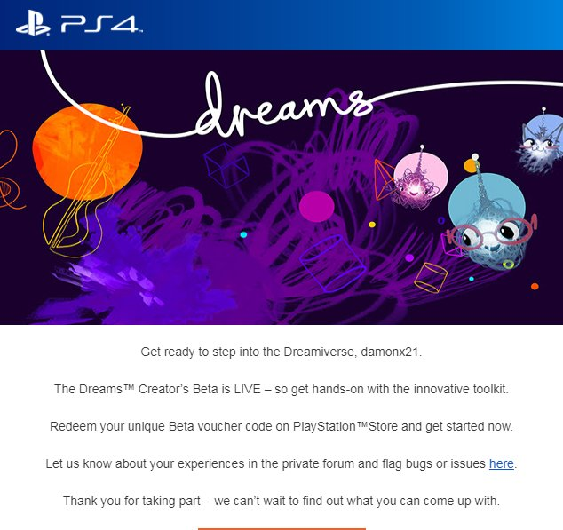 damonx's photo on #DreamsPS4
