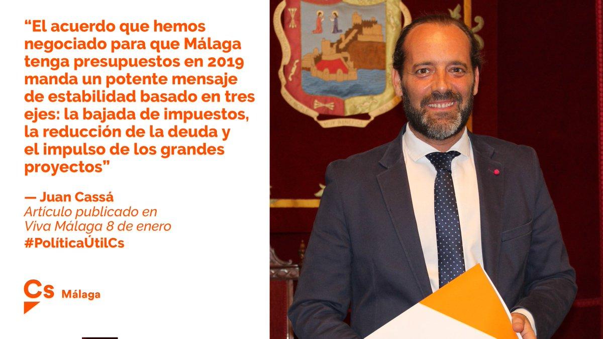 Cs Málaga's photo on Presupuestos de 2019