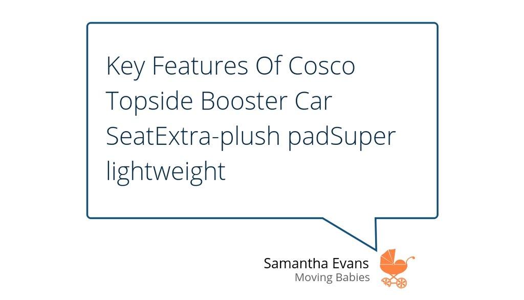 Cosco Baby Car Seat Manual