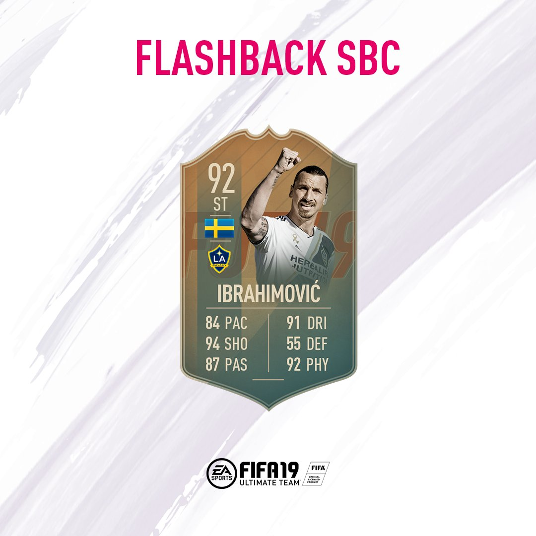 The @Ibra_official Flashback SBC is now available! �� #FUT14TOTY  #FIFA19 https://t.co/zH6u9cxaQY