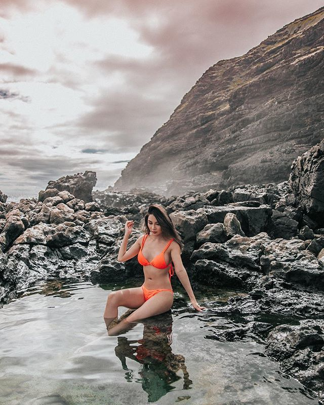 The rugged wild terrain and beauty of raw nature in Hawaii. The tide began to rise quickly after this shot crashing into the tide pools and nature reminded us that it 'waits for no pics' lol. 😭 Our camera got submerged in water, but fortunately it re… https://t.co/YZLB4a3uLG