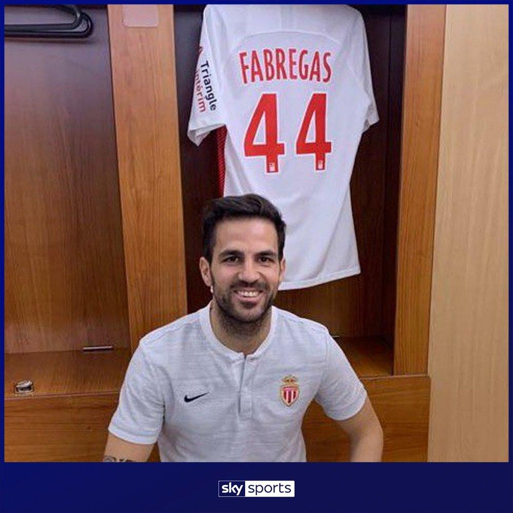 Sky Sports Premier League's photo on Cesc Fabregas