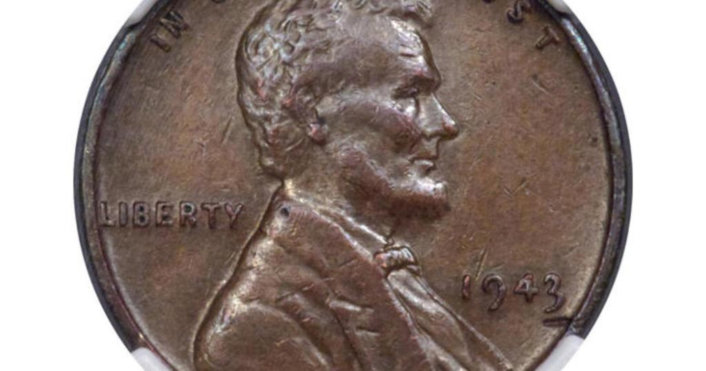 A rare copper penny that a Massachusetts man found in his lunch money over 70 years ago has been auctioned for more than $200,000 https://t.co/i2SwIff89l