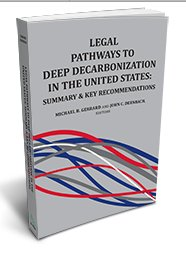 #FridayReads: Download for FREE the PDF summary of LEGAL PATHWAYS TO DEEP DECARBONIZATION IN THE UNITED STATES edited by @MichaelGerrard &amp; John C. Dernbach here:  https:// bit.ly/2SPCINm  &nbsp;  . Full book with 1000+ options for federal, state, local &amp; private action out in March 2019.<br>http://pic.twitter.com/4mklOVpeKe
